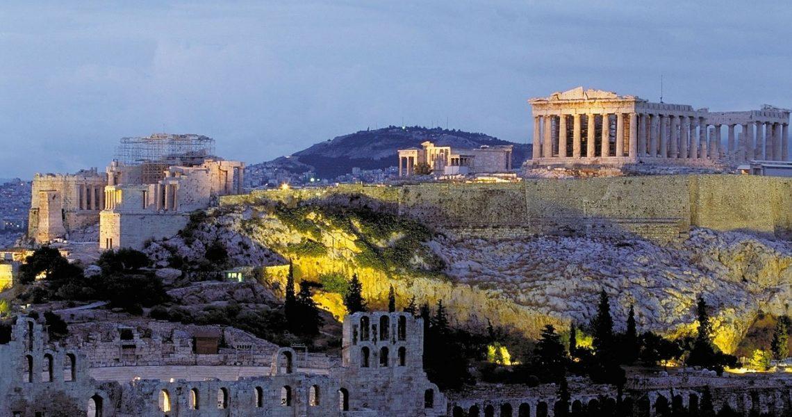 Atene tra l'Acropoli, Anafiotika, La Plaka, e Monastiraki