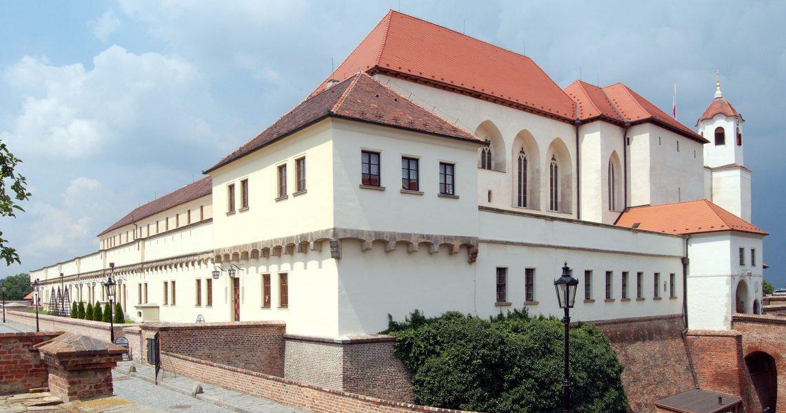 Brno, capitale della Moravia, ex Brunn dell'Impero Asburgico